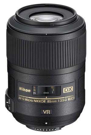 Nikon 85mm f/3,5 AF-S G DX Micro VR