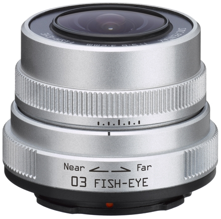 Pentax 3,2mm f/5,6 Fish Eye pro Q bajonet