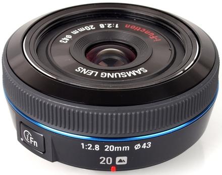 Samsung NX 20mm f/2,8