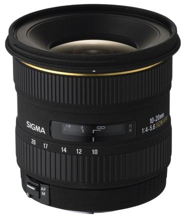 Sigma 10-20mm f/4,0-5,6 EX DC HSM pro Canon