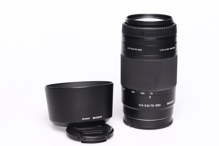 Sony 75-300mm f/4,5-5,6 bazar