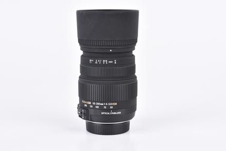 Sigma 50-200mm f/4,0-5,6 DC OS HSM pro Nikon bazar