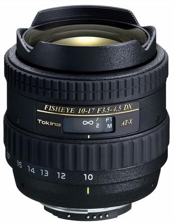Tokina AT-X 10-17mm f/3,5-4,5 AF DX pro Canon
