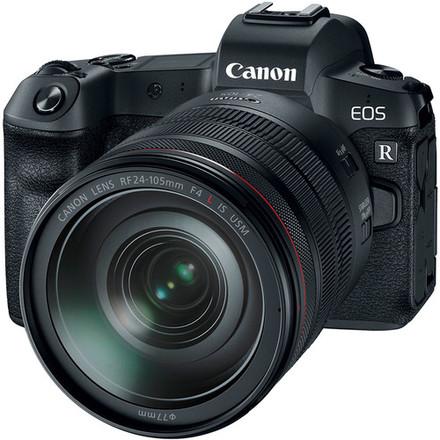 Canon EOS R + 24-105 mm + EF-EOS R adaptér