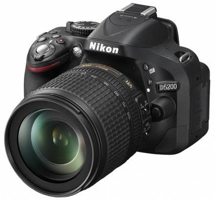 Nikon D5200 + 18-105 VR + 16GB Ultra + brašna Nikon + ochranný filtr + poutko na ruku!