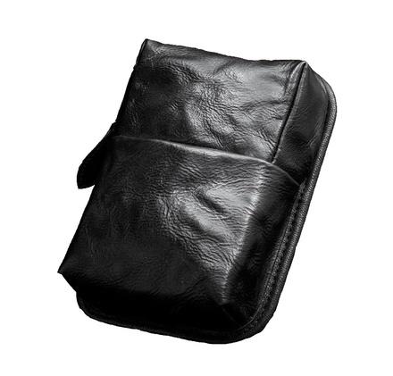 Wotancraft Leather Hidden Zipper Pocket