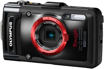 Olympus TG-2 černý + 16GB Ultra + neoprénové pouzdro + plovoucí poutko!