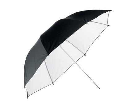 Terronic deštník BW-110cm černý - bílý