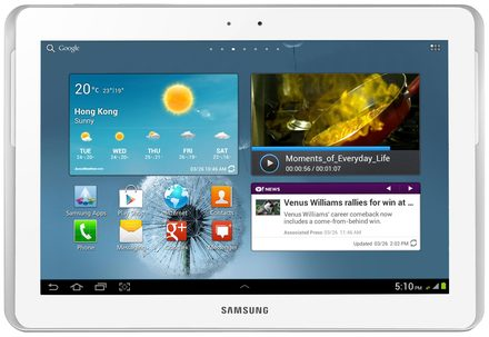 Samsung Galaxy Tab 2 10.1 P5100 bílý