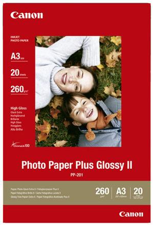 Canon fotopapír PP-201 Plus Glossy II (A3)