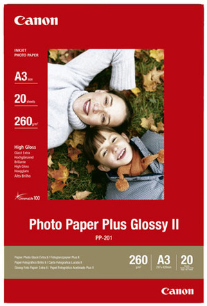 Canon fotopapír PP-201 Plus Glossy II (A3) 20 ks