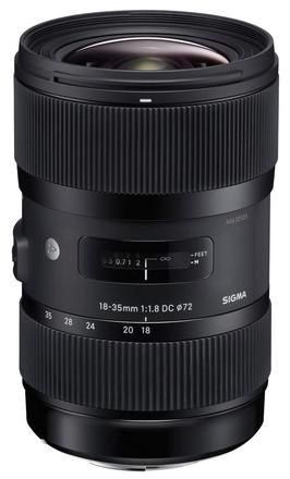 Sigma 18-35 mm f/1,8 DC HSM Art pro Canon