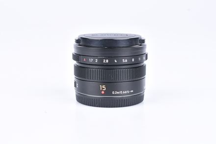Panasonic Leica Summilux 15 mm f/1,7 ASPH. bazar