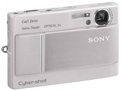 Sony DSC-T10 stříbrný