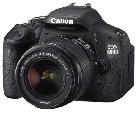 Canon EOS 600D + 18-55 mm IS II + 55-250 mm IS II + 16GB karta + brašna + filtr UV 58mm!