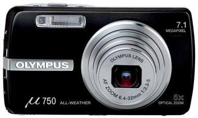 Olympus Mju 750 černý + accessory kit