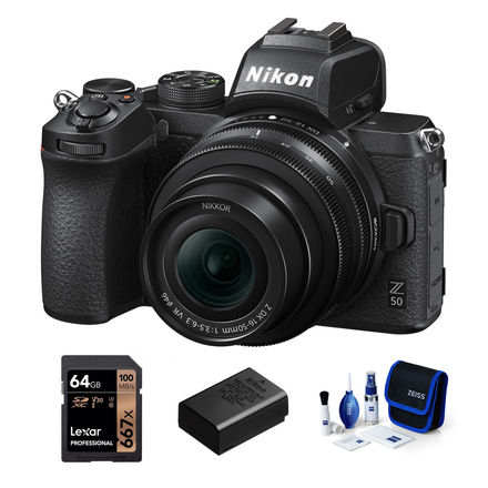 Nikon Z50 + 16-50 mm - Základní kit