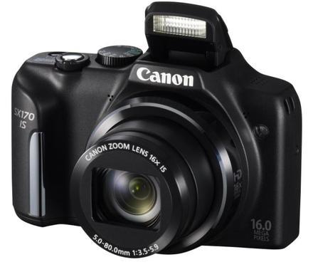 Canon PowerShot SX170 černý + 8GB karta + pouzdro 320 + čistící utěrka!