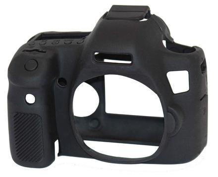 EasyCover silikonové pouzdro pro Canon EOS 6D černé