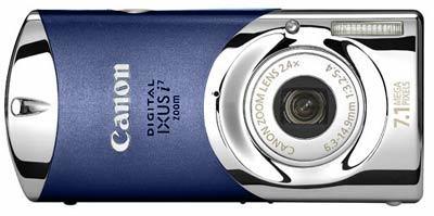 Canon Digital IXUS i7 modrý