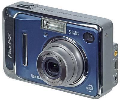 Fuji FinePix A500 modrý