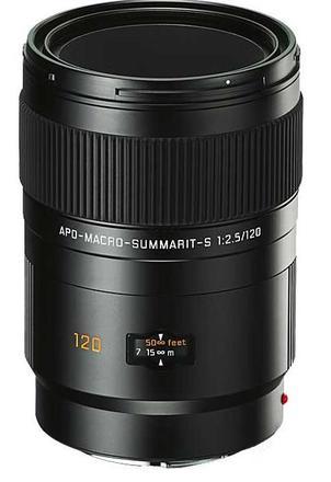 Leica 120mm f/2,5 APO MACRO SUMMARIT-S
