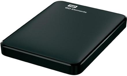 "Western Digital Elements Portable 1TB, 2.5"" USB 3.0, černý"