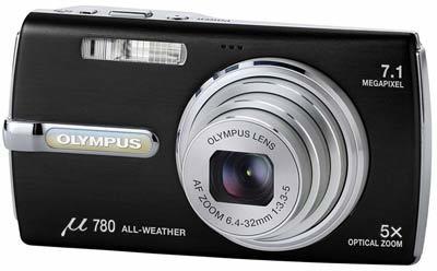Olympus Mju 780 černý + 1GB xD karta!