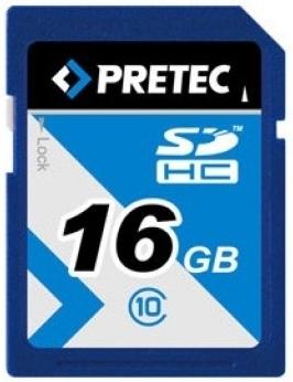 Pretec SDHC 16GB 233x, class 10