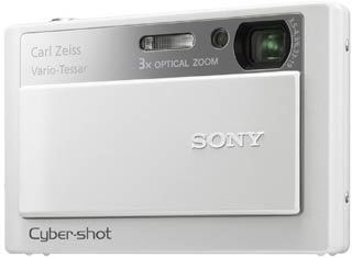 Sony DSC-T20 bílý