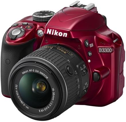 Nikon D3300 + 18-55 mm AF-P VR