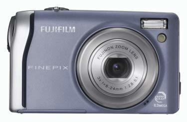 Fuji FinePix F40fd modrý