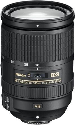 Nikon 18-300mm f/3,5-6,3 AF-S G ED VR
