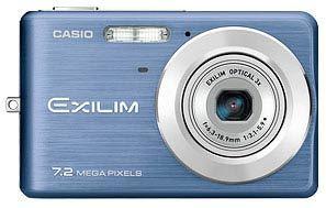 Casio EXILIM Z77 modrý