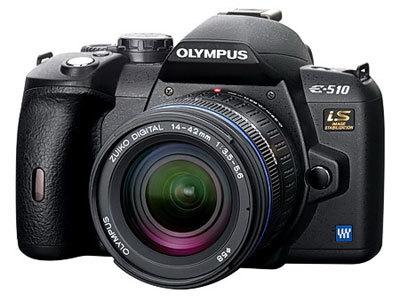 Olympus E-510 reportážní Pro Kit