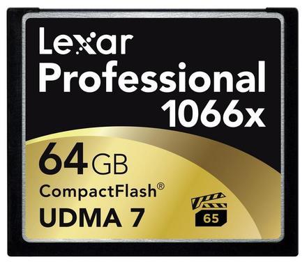 Lexar CF 64GB 1066x Professional UDMA7