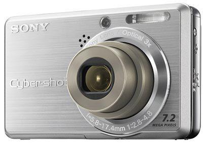 Sony DSC-S750 stříbrný