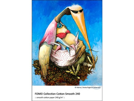 FomeiJet Collection Cotton Smooth 240 A3+ (32,9 x 48,3cm)/20