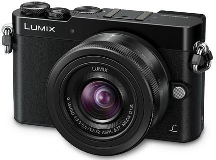 Panasonic Lumix DMC-GM5 + 15 mm černý