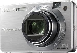 Sony DSC-W170 stříbrný