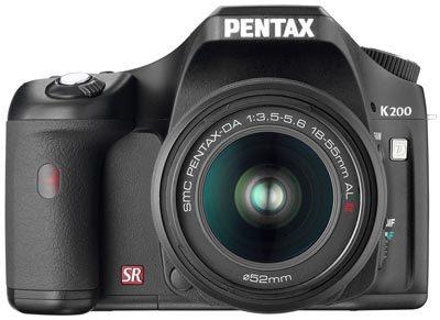 Pentax K200D + 18-55 mm