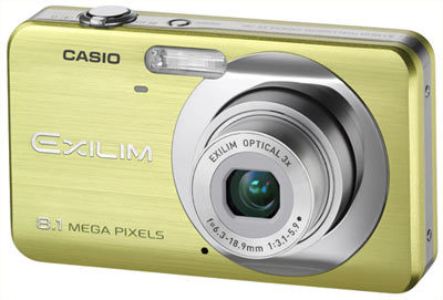 Casio EXILIM Z80 zelený