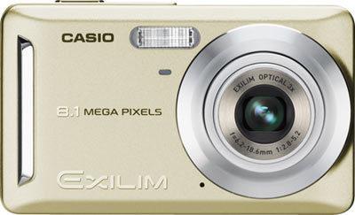 Casio EXILIM Z100 zlatý