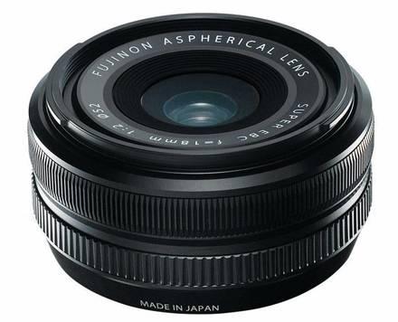 Fujifilm XF 18mm f/2,0 R