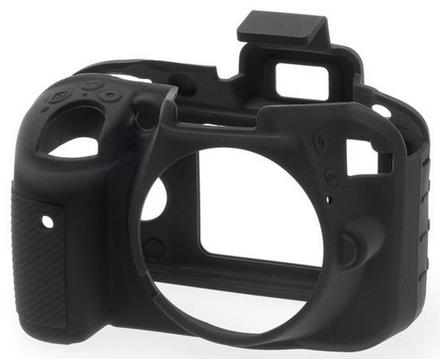 EasyCover silikonové pouzdro pro Nikon D3300, D3400 černé