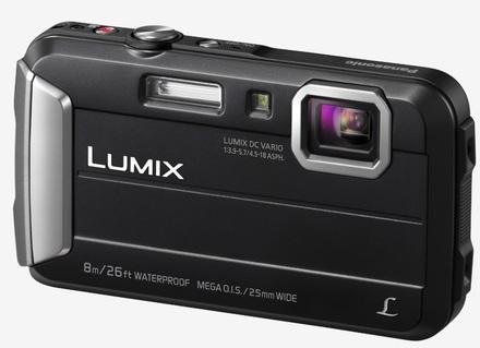 Panasonic Lumix DMC-FT30 černý + 16GB karta + pouzdro 70G!