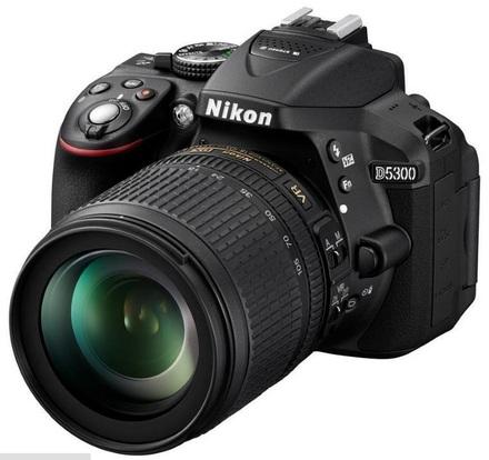 Nikon D5300 + 18-105 mm VR + 16GB Ultra + originální brašna + UV filtr 67mm + dálkové ovládaní!
