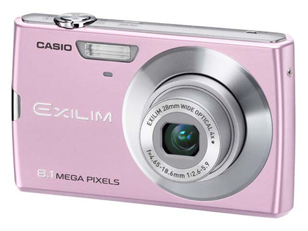 Casio EXILIM Z150 růžový