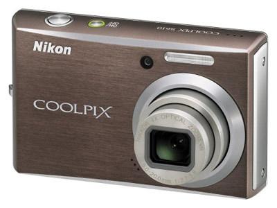 Nikon CoolPix S610 hnědý