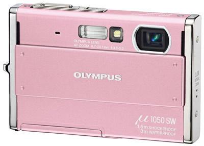 Olympus Mju 1050 SW růžový